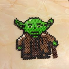 Yoda - Star Wars  perler beads  by mshaaaa_r5