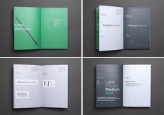 Brand guidelines for Nicholas Architects by Strategy Design, New Zealand
