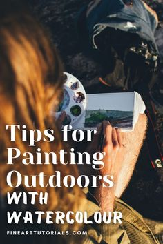 Take your sketchbook or easel outdoors and get painting! It's the perfect activity for when the weather is good. Find these 5 plein air watercolour painting tips to help you get set up for your painting trip. #pleinairpainting #pleinairwatercolorpainting #watercolorpaintingtutorial #watercolortips #watercolortutorial #howtowatercolorpaint #watercolorpainting #paintingtips #paintingtutorial #watercolorartist #watercolour #pleinair #paintoutdoors Watercolor Tips, Watercolour Tutorials, Watercolour Painting, Painting Tips, Painting Tutorials, Learn To Paint, Improve Yourself, Activities, Easel