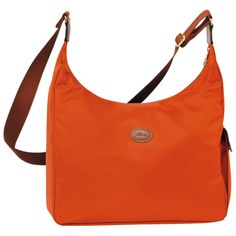 Hobo bag Le pliage - Bags - Longchamp - Paprika - longchamp.com