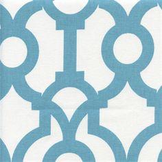 Lyon Backdrop Coastal Blue Contemporary Drapery Fabric by Richtex Premium Prints - 54233 | BuyFabrics.com