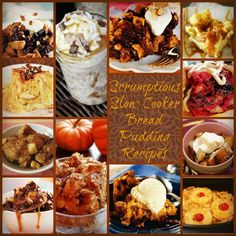 Slow Cooker Bread Pudding: 17 Of The Best Bread Pudding Recipes + Bonus Recipes