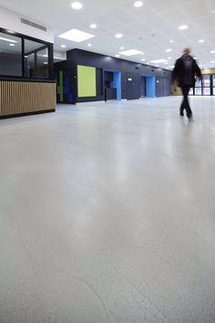 Our latest #panDOMO Loft #flooring achieves non slip certification for Fairfield Youth & Community Centre #cementfloor #fpolishedconcrete @ardex