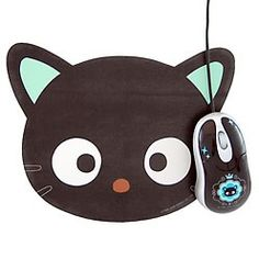 Chococat mousepad.  No longer on Sanrio.