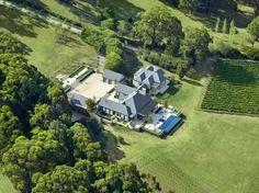 Australian Vineyard aerial