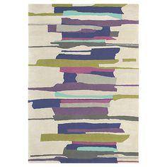 Buy Harlequin Zeal Rug, Purple/Aqua 200 x 140cm Online at johnlewis.com