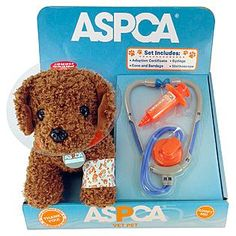 @ASPCA Vet Pet Adoptable Poodle at KMart!