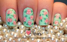 Pretty nails. How do i do this?!