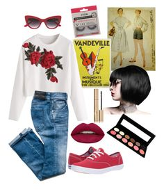 """lotta livin to do"" by elainejtracy on Polyvore featuring Keds, Huda Beauty, eylure and Stila"