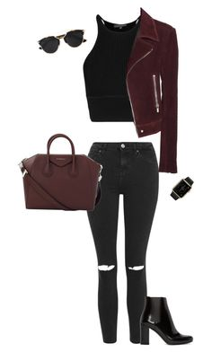 Women, female, woman and misses stylish outfits, cute outfits, fashion outf Teen Fashion Outfits, Edgy Outfits, Mode Outfits, Fall Outfits, Womens Fashion, Looks Teen, Look Girl, Polyvore Outfits, Ideias Fashion