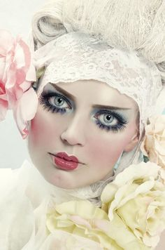 face makeup, fantasy makeup, doll makeup, paper dolls, doll face, rag dolls, baby dolls, fashion magazines, haute couture