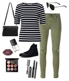 """""""Sunny Fall"""" by laura-rathbone on Polyvore featuring J Brand, Converse, John Lewis, Calvin Klein, Bobbi Brown Cosmetics, NARS Cosmetics, Lime Crime and MAC Cosmetics"""