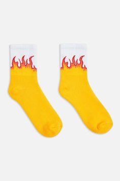 defa919bbd8 Topshop Flame Tube Socks Tube Socks