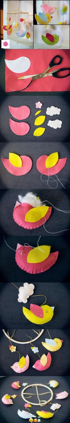 Inspiration Board: Bird themed Baby Shower on the Tinyprints Blog