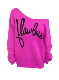 Flawless - Pink Slouchy Oversized Sweatshirt (This listing is for the *PINK* sweatshirt only! Each color has its own listing!) The sweatshirt