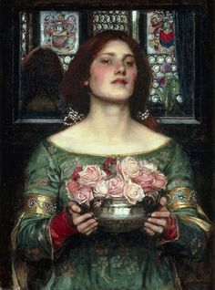 Gather Ye Rosebuds While Ye May - John William Waterhouse - Wikipedia