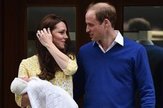 The 14 Sweetest Moments From the Royal Baby's Birth Day!-When William First Emerged From the Hospital With a Proud Grin  Prince William, Kate Middleton, and Prince George became a family of four on Saturday, May 2, when Kate gave birth to her second