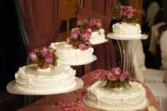 wedding menus and  wedding food. I like the look could do cupcakes for some of the layers