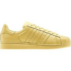 30fca3135db3 Uomo Donna Adidas Originals Superstar Supercolor Pack Scarpe Giallo B32712
