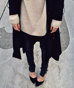 Black and beige simplicity
