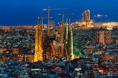 Barcelona Sacrada Familia, will finish in 2026