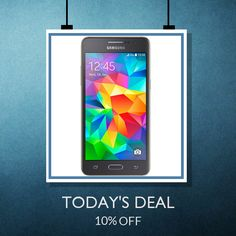 Today Only! {{10% OFF}} this item. Like us on Pinterest to be the first to see our exciting Daily Deals. Today's Product: {{Samsung Galaxy Grand Prime (Refurbished)}} Buy now: {{http://www.fonezone.in/products/samsung-galaxy-grand-prime}}