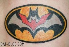 batman tattoo...BATTOO