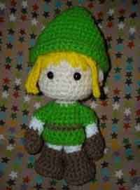 Link (Legend of Zelda) Amigurumi