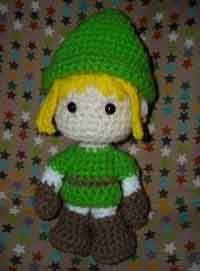 Link (Legend of Zelda) Amigurumi