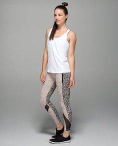 Lululemon dottie dash ace spot grain inspire tights - A lot of people think these are a bit much, but I like them