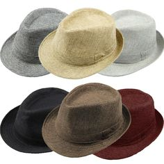 New Mens Fedora Gangster Straw Hat Summer Sun Beach Trilby Jazz Belt Cap  Fashion d4bd0c05baa4