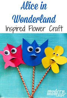 See How Easy & Fun it is to Make this Alice In Wonderland Craft - Modern Mom Life