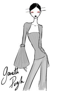 Gareth Pugh Paris Womenswear S/S 2013 by Rei Nadal.