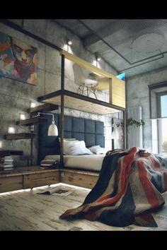 dream bed room - Loft