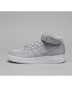 uk availability f6b5f 7c0a7 Nike Air Force 1 Mid  07 Chaussures Gris Blanc