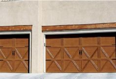Green fiberglass garage door replacement done by Mark Christopher. Call us today to set up your consultation! 888.870.4677