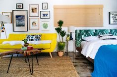 Beautiful Bedrooms, Living Rooms, Foyers, Bathrooms With Yellow Accents   Apartment Therapy