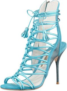 Sophia Webster, baby blue strappy heels