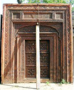 A Mughal Door Pakistan Doors and India
