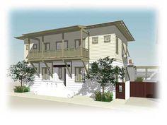 Amazing beach home. Rosemary Beach, Beach Fun, Beach House, Florida, Mansions, House Styles, Amazing, Outdoor Decor, Home Decor