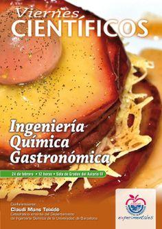 Charla sobre ingeniería química gastronómica en la Universidad de Almería http://www.elmajao.com/2012/02/22/ingenieria-quimica-gastronomica-la-cocina-como-planta-de-procesamiento-industrial/