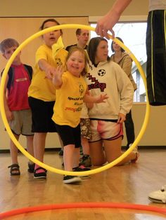 What a beautiful picture, it really shows how important the Special Olympics organization is to these children.  www.specialolympicswisconsin.org