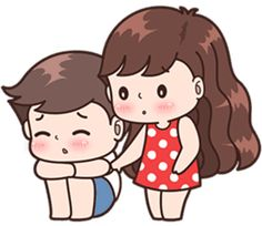 This love for you, send your love to your couple. Love Cartoon Couple, Cute Couple Comics, Cute Love Cartoons, Cute Love Couple, Anime Love Couple, Cute Love Pictures, Cute Cartoon Pictures, Cute Couple Drawings, Cute Drawings