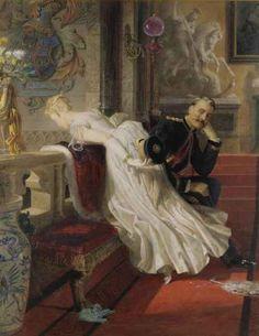 """""""Amor Vincit Omnia"""" by Edward Henry Corboulg (1815-1905)."""