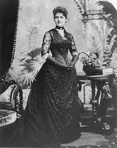 Frances Cleveland, circa 1889...  She was married to U.S. President: Grover Cleveland