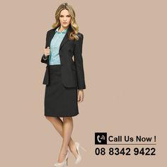 Ladies Longline Jacket. Sizes: 4 - 26 #jacketsforwomen #ladieswinterwear #jackets #corporatewear