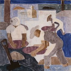 Portal Portinari - Garimpo (Gold-Digging) 1938