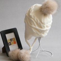 $8.42 (Buy here: https://alitems.com/g/1e8d114494ebda23ff8b16525dc3e8/?i=5&ulp=https%3A%2F%2Fwww.aliexpress.com%2Fitem%2FCN-RUBRWomen-Winter-Pom-Pom-Hat-Warm-Parent-Children-Skullies-Beanies-Knitting-Protect-Eras-Hats-Gorros%2F32772227596.html ) CN-RUBRWomen Winter Pom Pom Hat Warm Parent Children Skullies & Beanies Knitting Protect Eras Hats Gorros Mujer Invierno for just $8.42