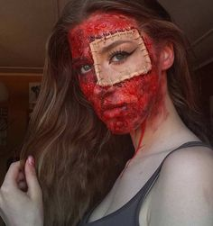 Bloody SFX Makeup Look for Halloween
