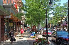 Jefferson Avenue favorites - Anderson's Book Store, Chicos, Clarks, Apple!, La Francesca, Potters!.....
